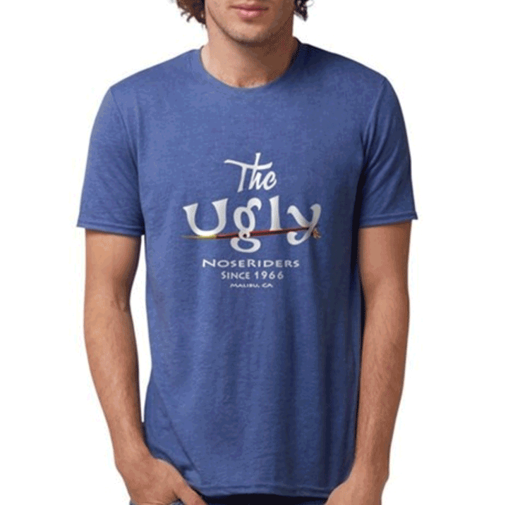 """$35.99 (S to XL, add $3 for XXL). """"The Ugly NoseRiders Since 1966"""" - Tri-Blend T-Shirt. The Rayon in our Tri-blend shirt makes it super soft, fluid, and feather light. Ringspun cotton adds smoothness and body, and polyester provides stretch and durability. 25/25/50 rayon/combed ringspun cotton/polyester (4.7 oz).  Tap on image to purchase."""